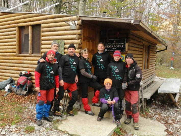 članovi ekspedicije HPD Željezničar