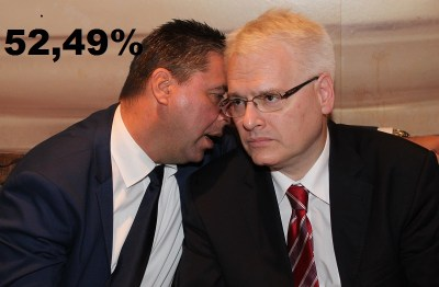 DIP demantirao ankete: Josipović vodi za 2,5 %