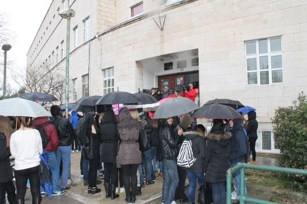 Srednja ekonomska škola - prosvjed učenika (Foto H. Pavić) (6)