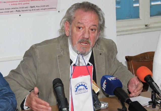 Vedran Dragičević, predsjednik Hrvatskog sindikata metalaca (Foto: H. Pavić)