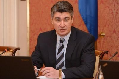 Premijer Milanović (Foto: Vlada RH)