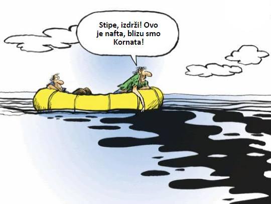 Karikatura - naftna tortura