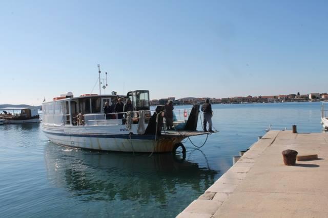 Brod na liniji 501 Brodarica - Krapanj