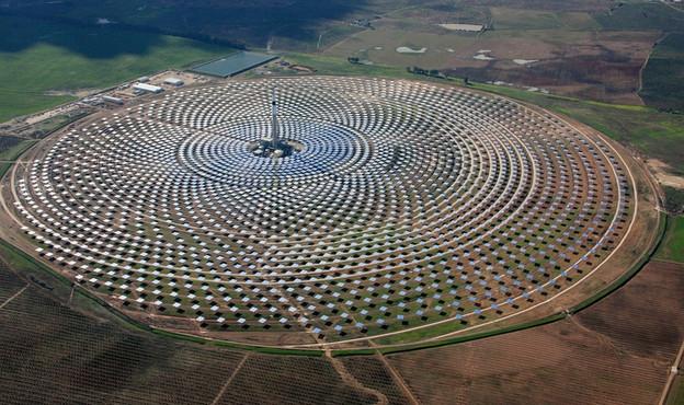 (ilustracija)- solarna elektrana kod Seville u Španjolskoj koja radi i noću (VIDI)