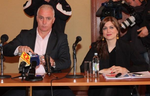 Župan Goran Pauk i direktorica Agencije za ugljikovodike Barbara Dorić (Foto: H. Pavić)