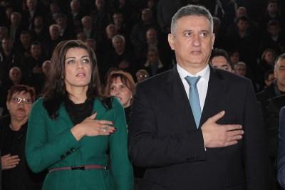 Josipa Rimac i Tomislav Karamarko (Foto TRIS/H. Pavić)