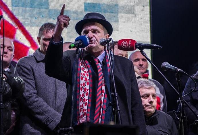 Branimir Glavaš na proslavi povratka iz zatvora - s Klemmom ii Glogoškim (Foto FB profil Branimira Glavaša)