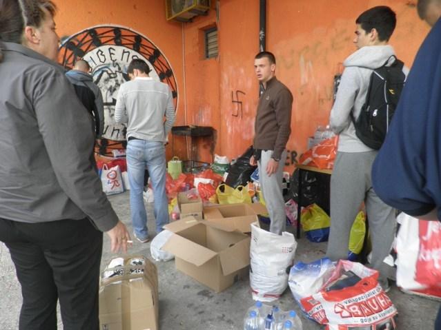 Prikupljanje humanitarne pomoći za poplavljeno područje Slavonije