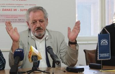 Tomislav Dragičević, predsjednik Sindikata metalaca Hrvatske (Foto: Tris/H. Pavić)