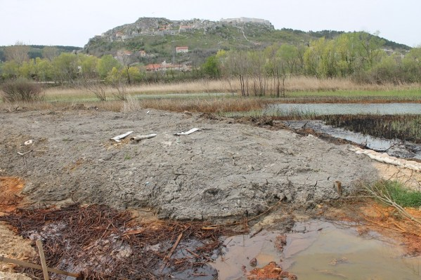 Do kraja 2016. otpadne vode Knina izlijevat će se u ovu močvaru (Foto: Tris/H. Pavić)