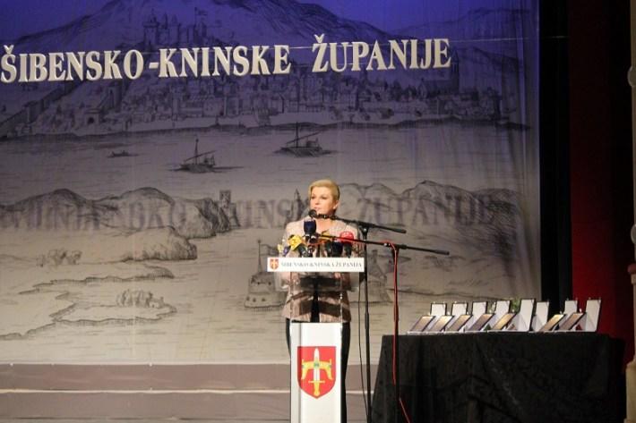 Kolinda Grabar Kitarović u Šibeniku (Foto H. Pavić) (2)