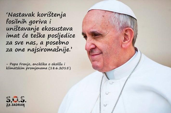 Papa Franjo - enciklika 'Laudato si' (2)