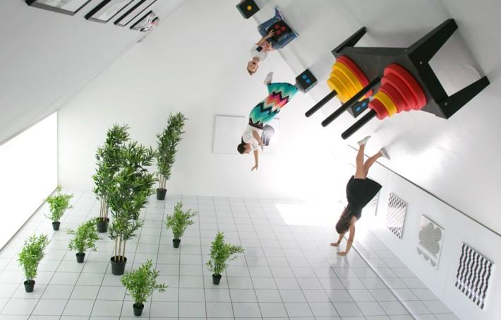 Obrnuta soba, Muzej iluzija