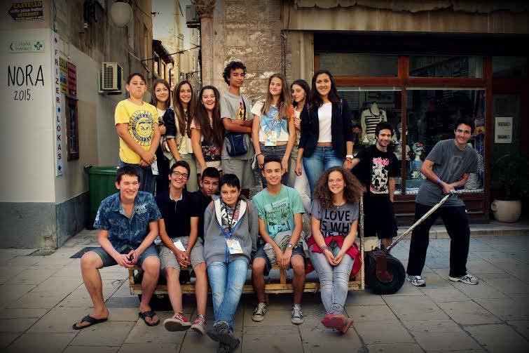 Dio polaznika novinarske radionica NORA na MDF-u (od njih ukupno 45) (Foto: Franka Štrkalj)