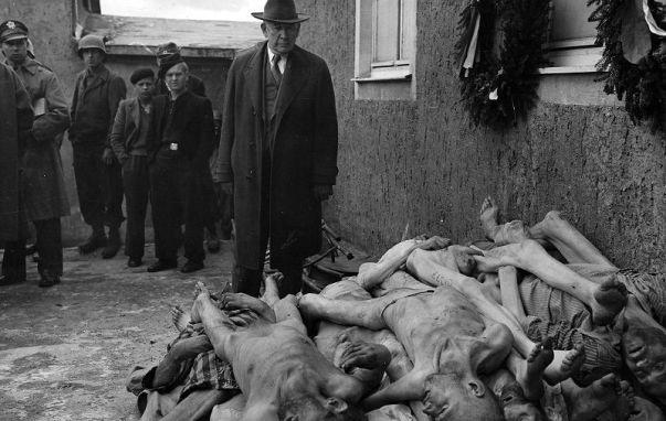 Buchenwald 24. travnja 1945. (Foto USHMM)