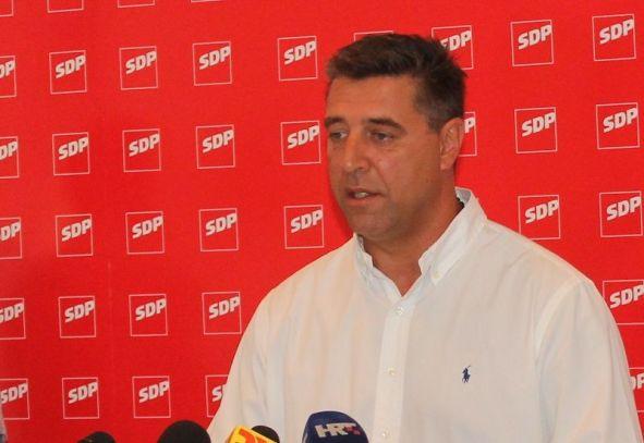 Predsjednik Gradske organizacije SDP-a Franko Vidović (Foto: H. Pavić)