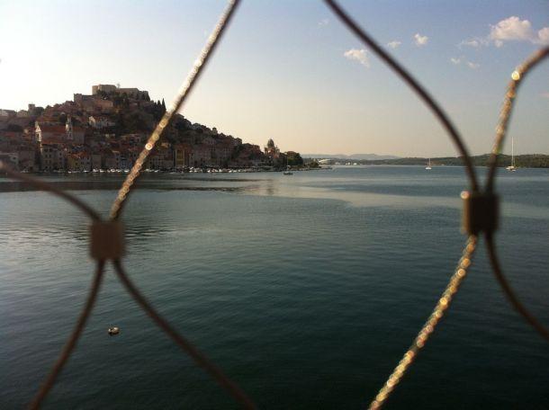 Pogled s vidikovca je bolji prema gradu nego prema plaži - foto TRIS