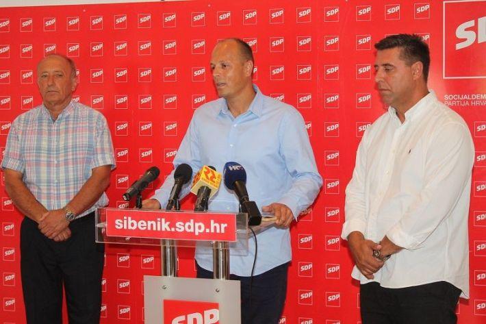 Konferencija za novinare SDP-a - Ivan Rajić, Joško Šupe i Franko Vidović (Foto H. pavić) (1)