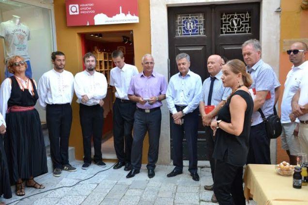 Na otvaranju se sakupilo dužnosnika(foto Šibensko-kninska županija)