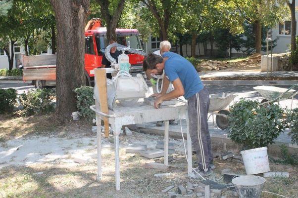 U tijeku su posljednji radovi na dotjerivanju komunalne infrastrukture (Foto: Tris/H. Pavić)