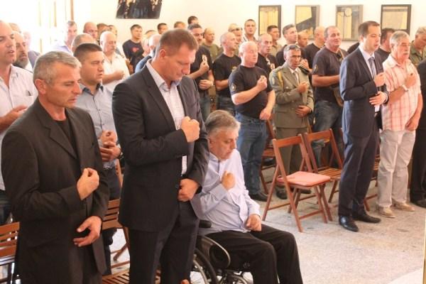 Obilježavanje 25. obljetnice 'Jastrebova' - sveta misa za poginule (Foto: Tris/H. Pavić)