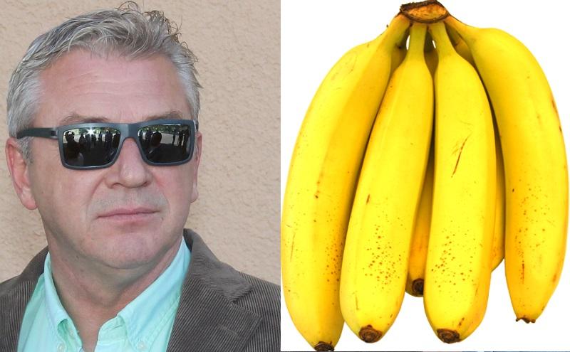 Ostojić i banane (Foto H. Pavić/Wikimedia)