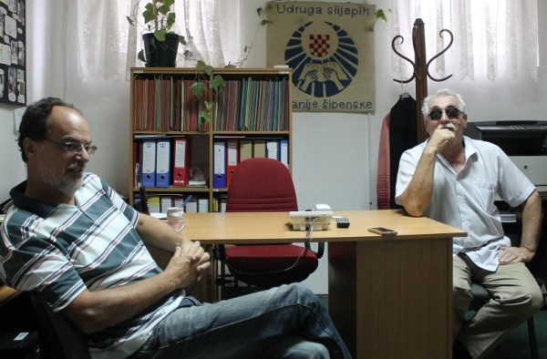 Tajnik Darko Juras i predsjednik Joso Bagić (Foto: Tris/H: Pavić)
