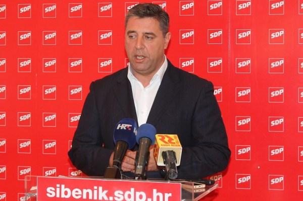 Franko Vidović na današnjoj konferenciji za novinare (Foto: tris/H. Pavić)