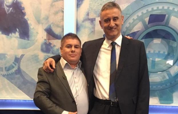 Velimir Bujanec i Tomislav Karamarko - jedan od ranijih susreta pocijeljen na Faceboku (Foto FB)