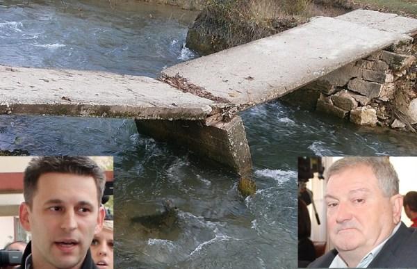 Božo Petrov i Mirko Rašković za sada se ne izjašnjavaju o mostu koji muči Raškoviće