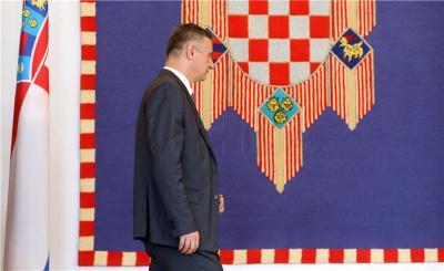 Tomislav Karamarko danas kod predsjednice (Foto Hina/Damir Senčar)