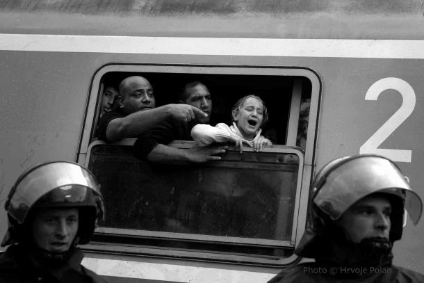 Vlak za Njemačku (foto Hrvoje Polan)