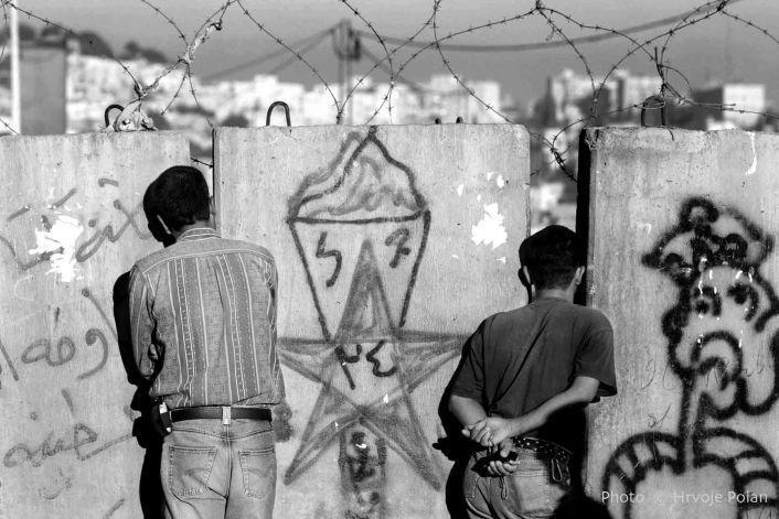 Prica o Izraelskom zidu, Abu Dis, predgradje Jeruzalema (foto Hrvoje Polan)