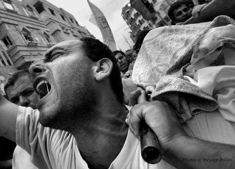 Sprovod u Gazi (foto Hrvoje Polan)