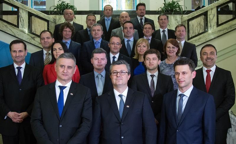 Hoće li ova raspadajuća skupina biti zapamćena kao najštetnija u povijesti malde hrvatske države foto HINA/ Damir SENČAR