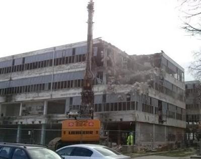 Današnje rušenje u Zadru (foto SHZ)