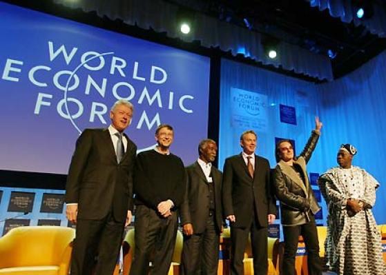S prijašnjeg švicarskog sijela: Clinton, Bono Vox, Gates... (foto: Wikipedia)