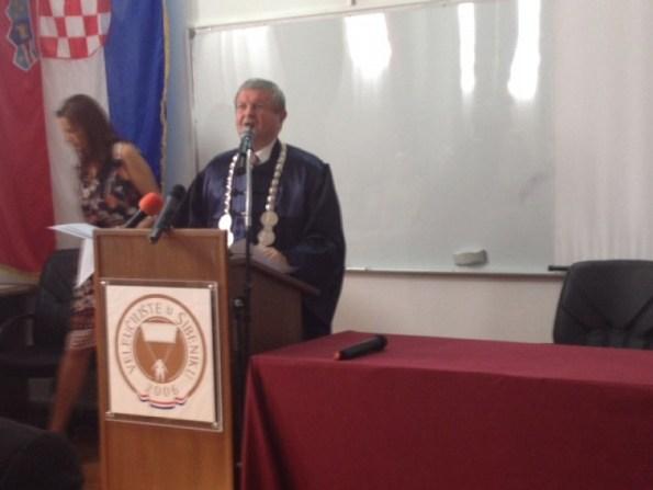 Dekan Marko Radačić (Foto: ŠibenikIn)