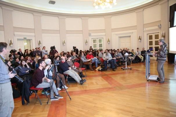 HND - Tribina 'U obrani slobode govora' (Foto H. Pavić)