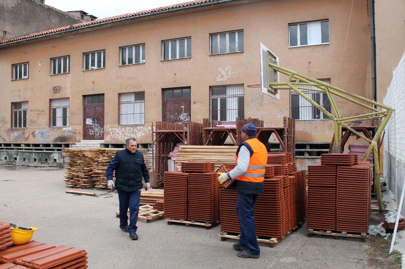 Počela obnova dvorane Miminac