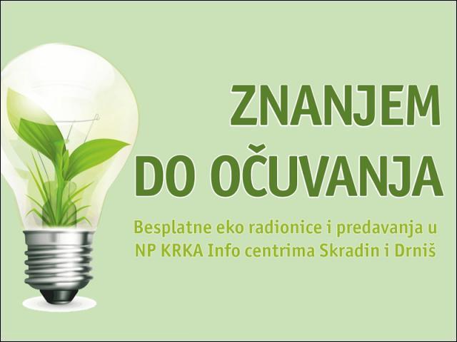 Nove eko radionice NP Krka
