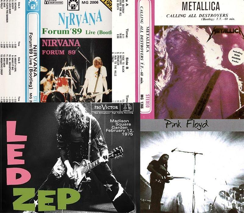 Bootleg – bitna i paralelna povijest diskografije