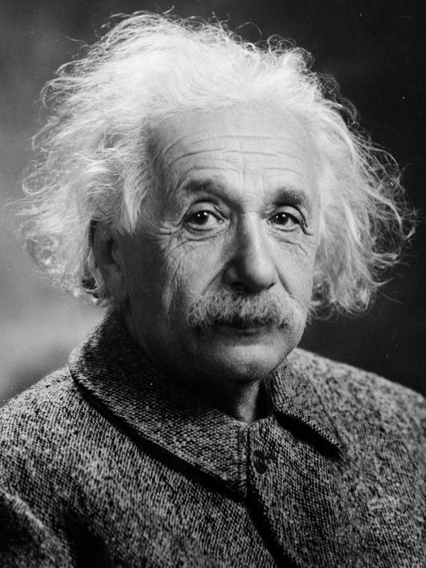 Albert Einstein (foto: Orren Jack Turner,, 1947.g.)
