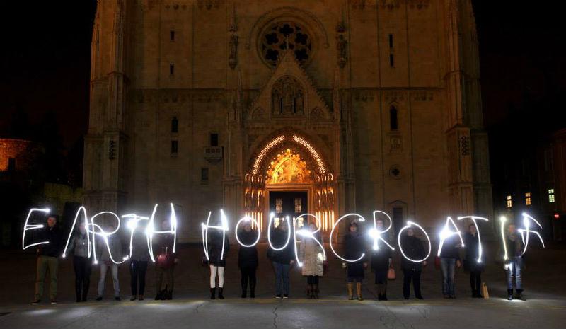 Globalna akcija: Sat za planet Zemlju