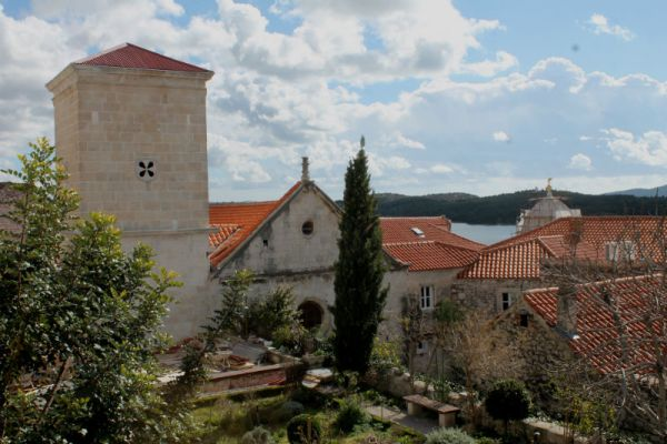 Zvonik crkve sv. Lovre u Šibeniku danas (Foto: Jozica Krnić)