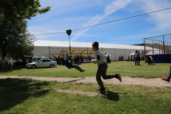 Šator 8. sajma agroturizma u Skradinu (Foto: Tris/H. Pavić)