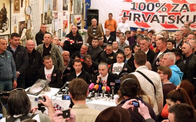 Glogoški: Prestaje prosvjed ispred Ministarstva branitelja