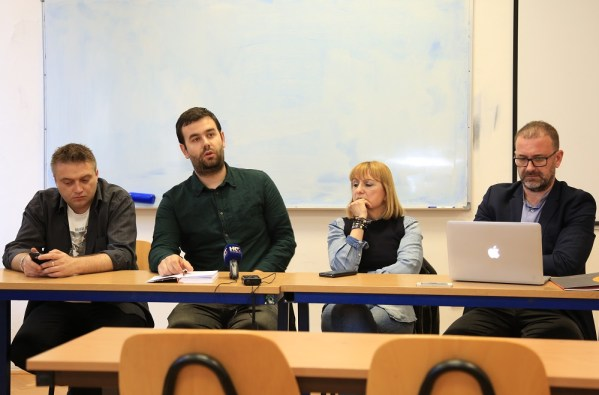 Emir Imamović Pirke, Slaven Rašković, Davorka Blažević i Eugen Jakovčić (Foto: Tris/H. Pavić)