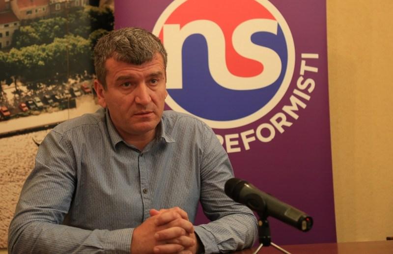 Petar Baranović na današnjoj konferenciji (Foto: Tris/H. Pavić)