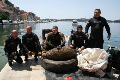 U hrvatskom je podmorju smeća za još 15 godina čišćenja